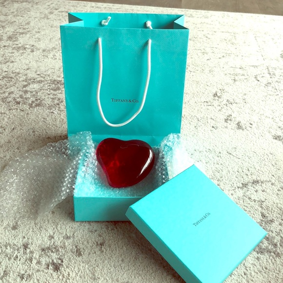 1cbc1a1ed81e Tiffany & Co. Other | Elsa Peretti Heart Paperweight | Poshmark